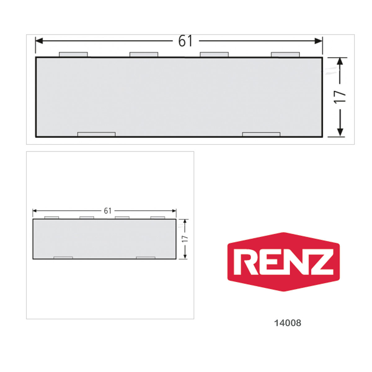 Ritzenhoff /& Breker Kaffeebecher Pistolengriff Love Porzellan 330ml 091441