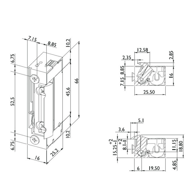 elektrischer t r ffner dorcas serie 99 der universal. Black Bedroom Furniture Sets. Home Design Ideas
