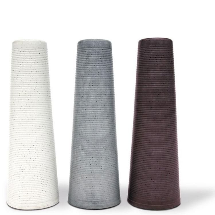 blumenvase oder kerzenleuchter clou korn beton. Black Bedroom Furniture Sets. Home Design Ideas