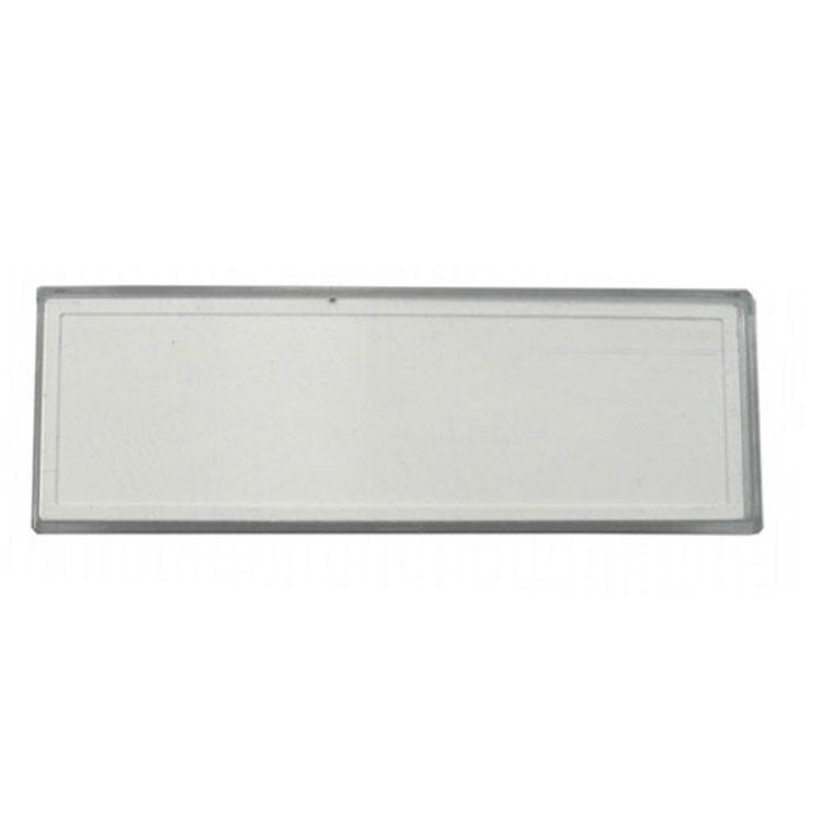 universal namensschild f r briefkasten variierbar zwischen 56 70 mm. Black Bedroom Furniture Sets. Home Design Ideas