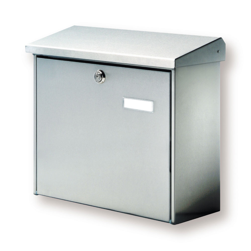 briefkasten aus edelstahl freistehende briefkasten s ule. Black Bedroom Furniture Sets. Home Design Ideas