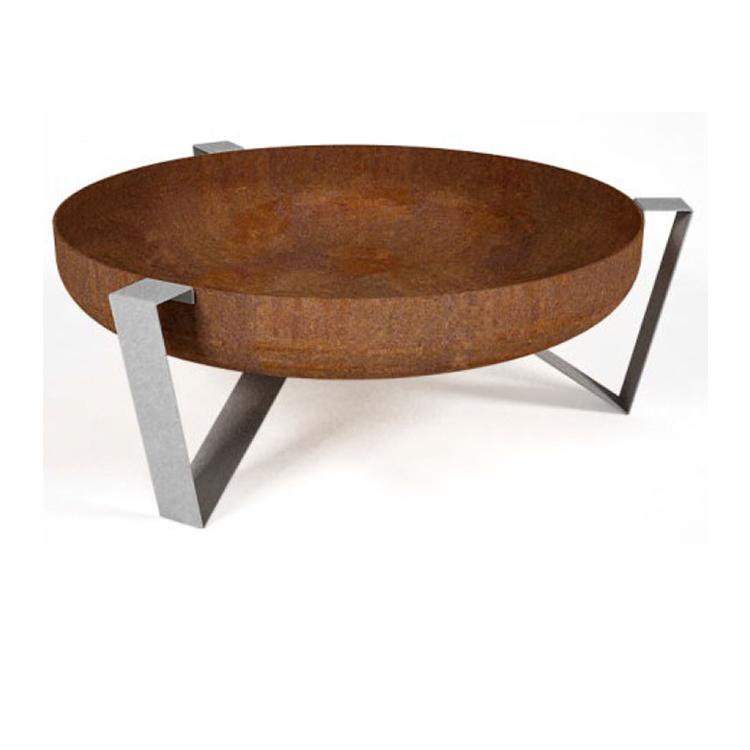 feuerschale feuerkorb voma mit futuristischem design. Black Bedroom Furniture Sets. Home Design Ideas