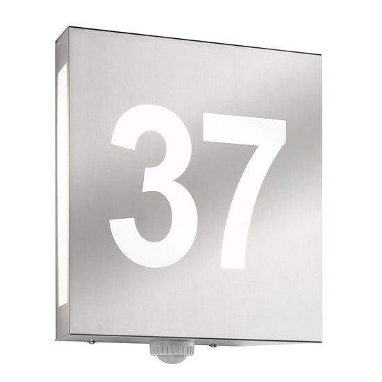 hausnummernleuchte au enleuchte wandleuchte mit hausnummer cmd 27 hn aqua matteo. Black Bedroom Furniture Sets. Home Design Ideas